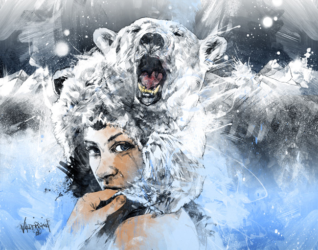 artic tears by the freshdoodle por JP Valderrama
