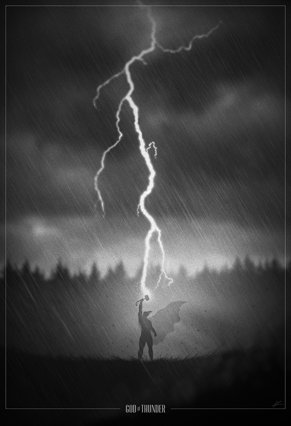 God of Thunder por Marko Manev